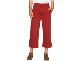 Lucky Brand Wide Leg Crop Pants in Rich Sienna Women's Jeans