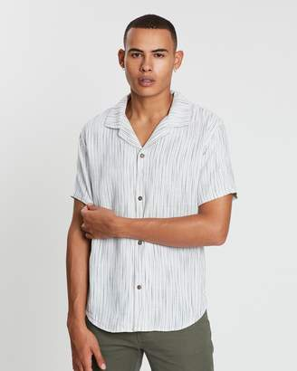 rhythm Vacation Stripe SS Shirt
