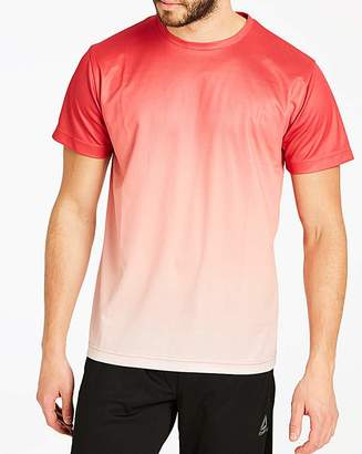 Fantasie Red Faded Sub T-Shirt Long
