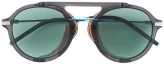 Fendi Eyewear round framed sunglasses