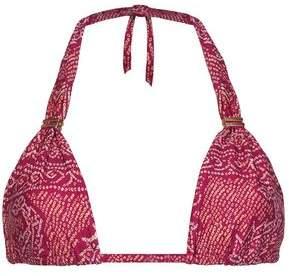 Vix Paula Hermanny Printed Triangle Bikini Top