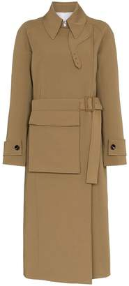 Joseph Stafford belted cotton trench coat