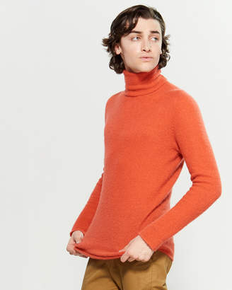 676ca9a59 Orange Men's Turtleneck Sweaters - ShopStyle