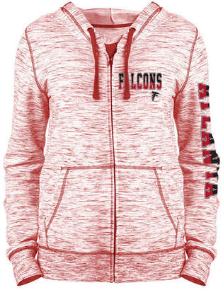 5th & Ocean Women's Atlanta Falcons Space Dye Full-Zip Hoodie