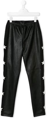 MonnaLisa side striped trousers
