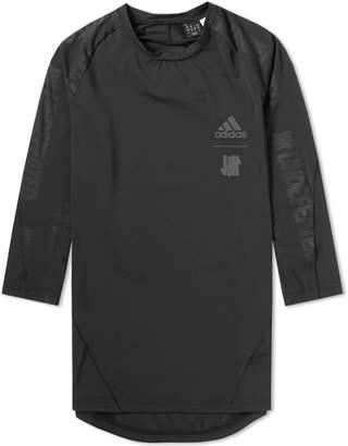 adidas x Undefeated 3/4 Sleeve Alphaskin Tech Tee