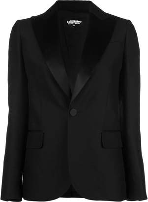 DSQUARED2 straight fit blazer