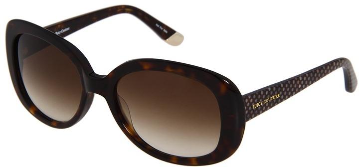Juicy Couture Juicy 517 (Dark Havana/Brown Gradient) - Eyewear