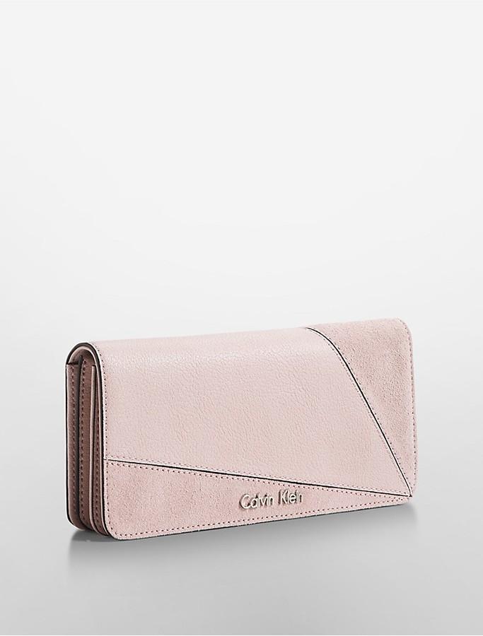 Calvin KleinLillian Soft Flap Continental Wallet