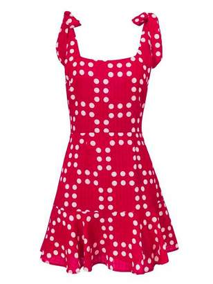 Goodnight Macaroon 'Sarrey' Tied Strap Pattern Dress (2 Colors)