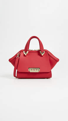 Zac Posen Eartha Iconic Mini Double Handle Bag