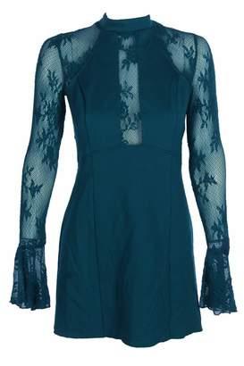 Free People Women's Illusion Bodycon Mini Dress