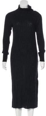 AllSaints Rib Knit Merino Wool Dress