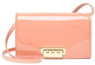 Zac Posen Earthette Patent Leather Crossbody Bag