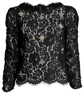 Joie Aina Jewel Lace Top