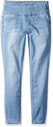 YMI Jeanswear Women's Wannabettashape Size Zip Skinny