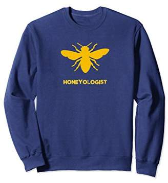 Funny Honeyologist Honey Bee Beekeeper Sweatshirt