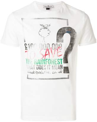 Vivienne Westwood Save The Rainforest T-shirt