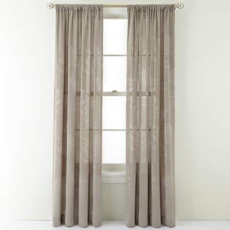 Royal Velvet Pavolva Rod-Pocket Curtain Panel