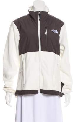 The North Face Mock Neck Fleece Jacket