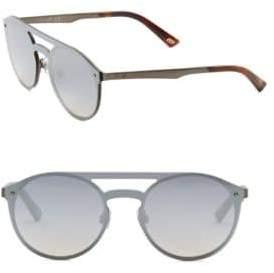 Web Round Shield Sunglasses