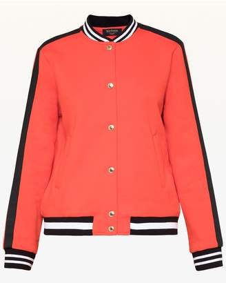 Juicy Couture Luxe Tiger Patch Bomber Jacket