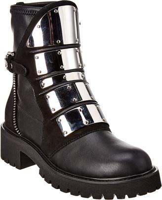 Giuseppe Zanotti Regan Leather Boot