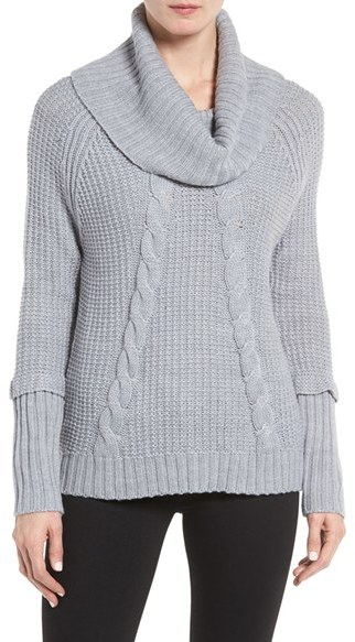 Women's Ivanka Trump Cowl Neck Sweater
