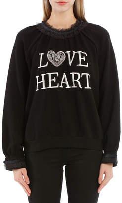 Needle & Thread Loveheart Sweat