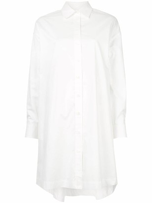 CK Calvin Klein oversized shirt dress