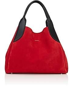 Lanvin Women's Trapeze Small Tote Bag - Red