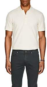 Barneys New York Men's Pima Cotton Polo Shirt - White