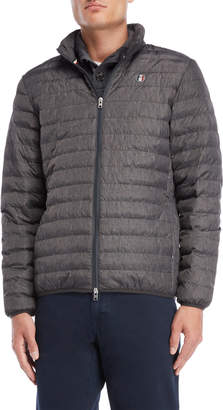 Serge Blanco Heather Quilted Packable Jacket