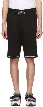 Diesel Black P-Kou-Tape Shorts