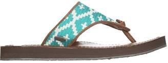 Acorn Artwalk Leather Flip Flop - Women's $54.95 thestylecure.com