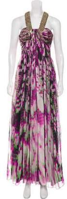 Matthew Williamson Embellished Maxi Dress