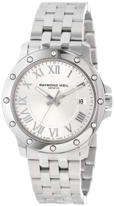 Raymond Weil Men's 5599-ST-00658 Tango Stainless Steel Case and Bracelet Dial Watch