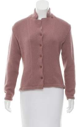 Calvin Klein Collection Cashmere Button-Up Cardigan