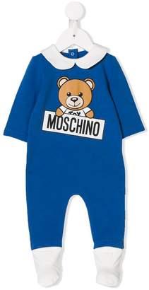 Moschino Kids teddy bear print pajama