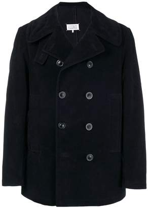 Maison Margiela classic double-breasted coat