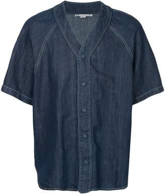 Stella McCartney embroidered map shirt