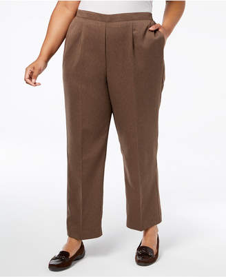 Alfred Dunner Plus Size Pull-On Pants, Regular & Short Inseam
