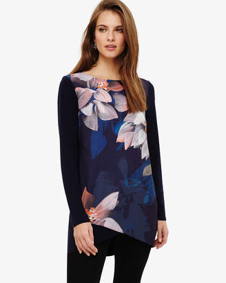 Phase Eight Maddie Floral Print Tunic