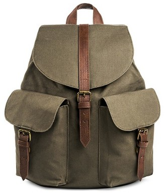 Mossimo Supply Co. Women's Nylon Solid Flap Backpack Green - Mossimo Supply Co. $26.99 thestylecure.com