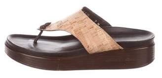 Donald J Pliner Platform Thong Sandals