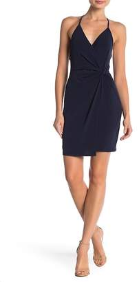 BCBGeneration Surplice Solid Dress