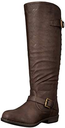 Journee Collection Women's Durango-wc Riding Boot
