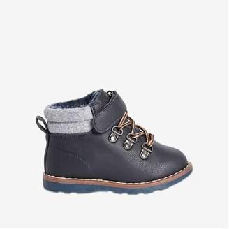 Joe Fresh Toddler Boys' Hiker Boots, Navy (Size 10)