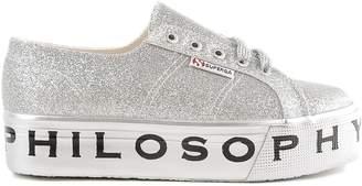 Philosophy di Lorenzo Serafini Superga Platform Glitter Sneakers