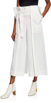 Issey Miyake Brushed Jersey Pleated Pants